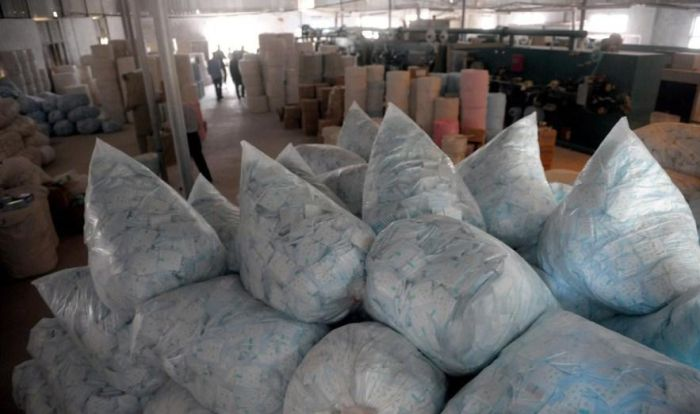 Illegal Production of Pads in China