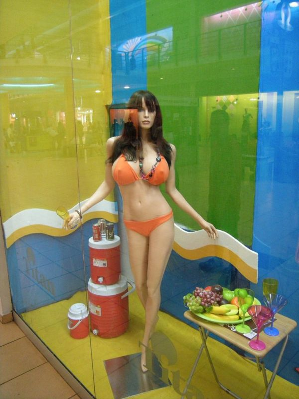 Mannequins in Panama City