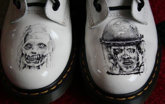 Walking Dead Boots