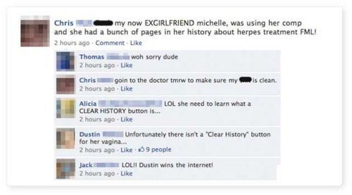 Facebook Fails and Wins, part 7