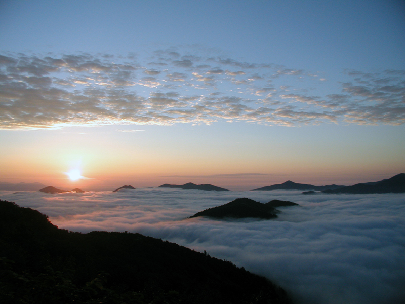 Unkai Terrace - a magical place above the clouds