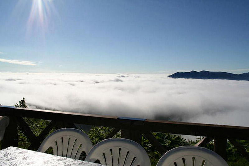 Unkai Terrace - a magical place above the clouds