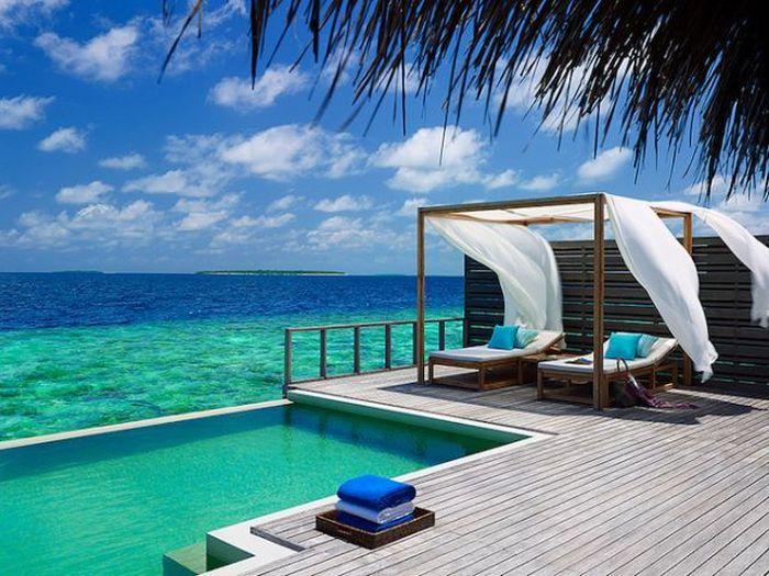The Baa Atoll Island