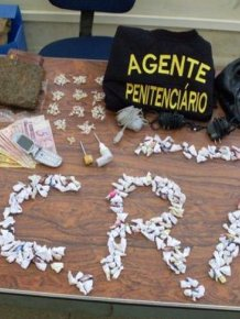 Confiscated by Brazilian Police