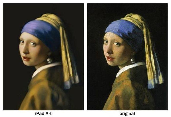 iPad Mini Reproduction of Girl with Pearl Earring