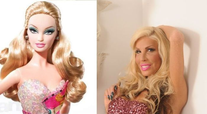 Man Turns Himself into Barbie Girl