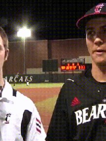 Bearcats Players Trolling the Reporter