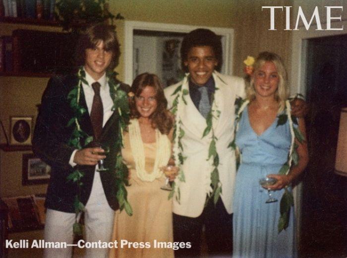 President Obama's 1979 Prom Photos