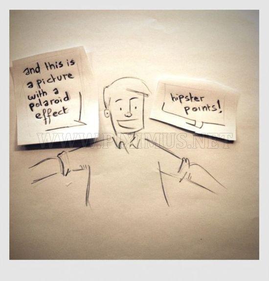 The Polaroid Effect