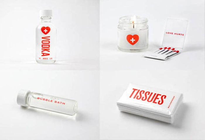 First Aid Kit for Broken Hearts