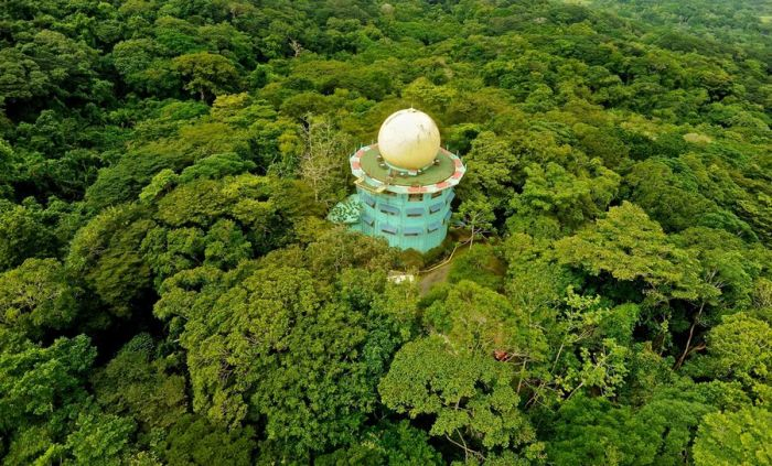 Canopy Tower Hotel in Panama