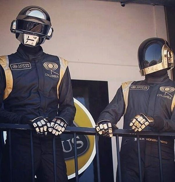 Daft Punk at the Monaco Grand Prix