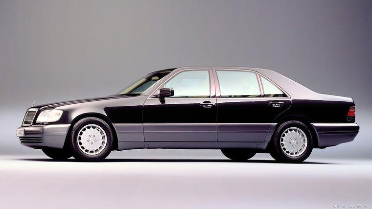 Mercedes benz s class w140 vehicles for Mercedes benz w140