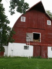 Barn Turned into a Cabin