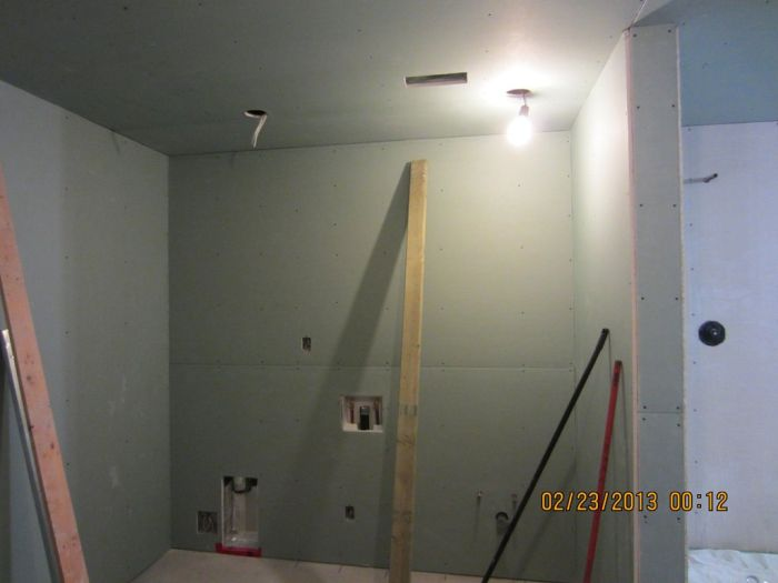 Basement Reconstruction Job