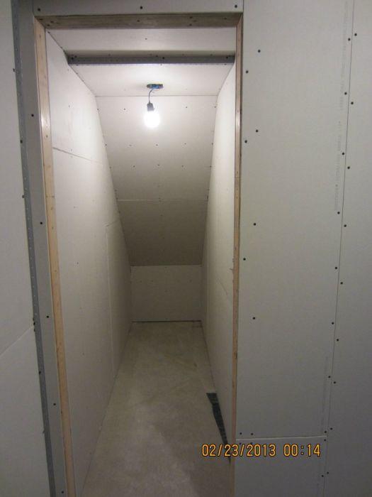Basement Reconstruction Job
