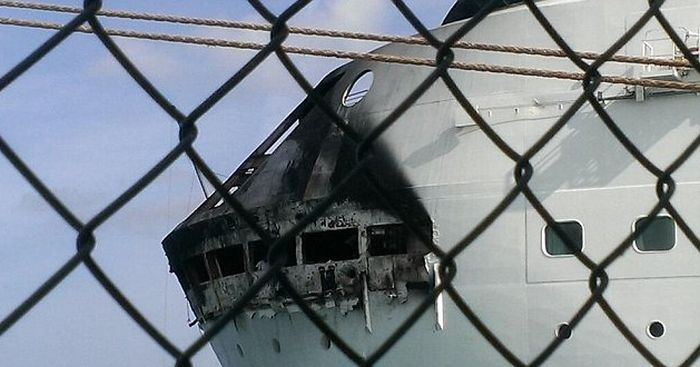 Fire on the Grandeur of the Seas