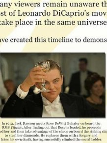 Leonardo DiCaprio's Movies Are All Connected
