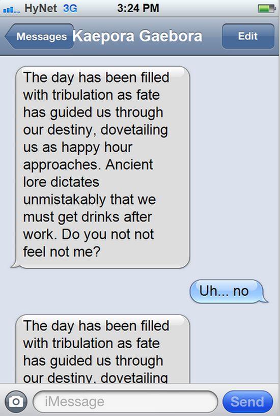 Texts From Zelda