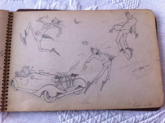 World War II Illustrations