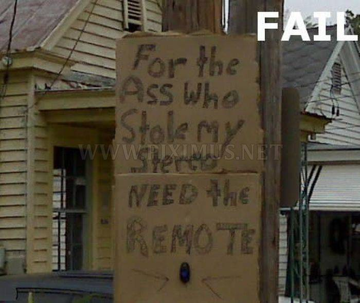 Messages to Thieves