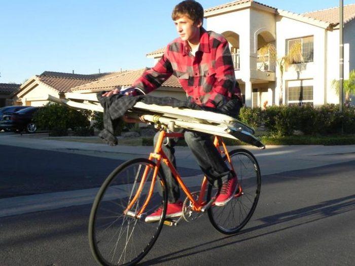 Boy Who Loves Extreme Ironing