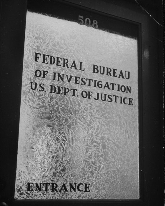 FBI in the '30s and '40s