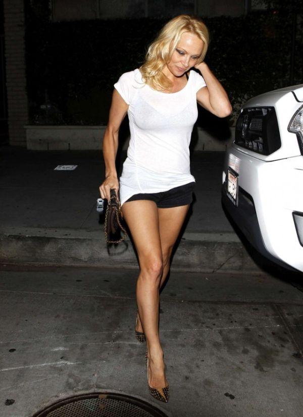 Pamela Anderson in LA