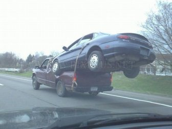 Transport a Broken Vehicle Like a Boss
