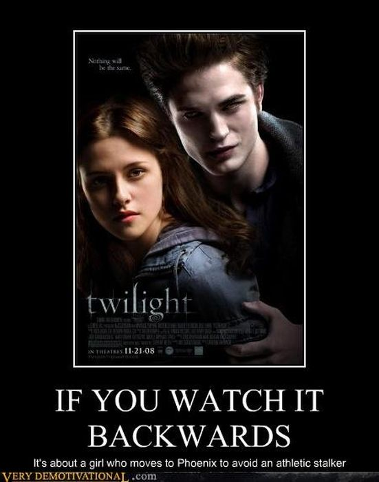 If You Watched the Movies Backwards
