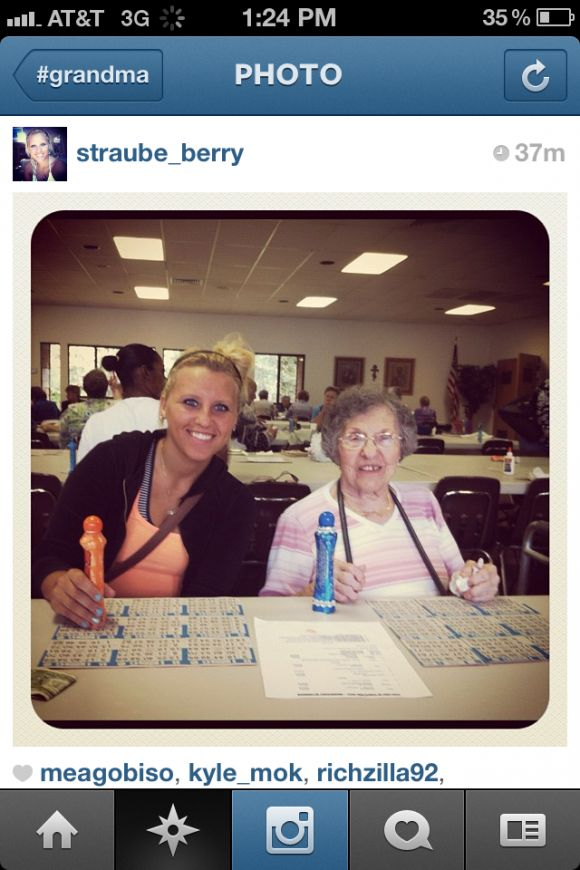Grandmas on Instagram