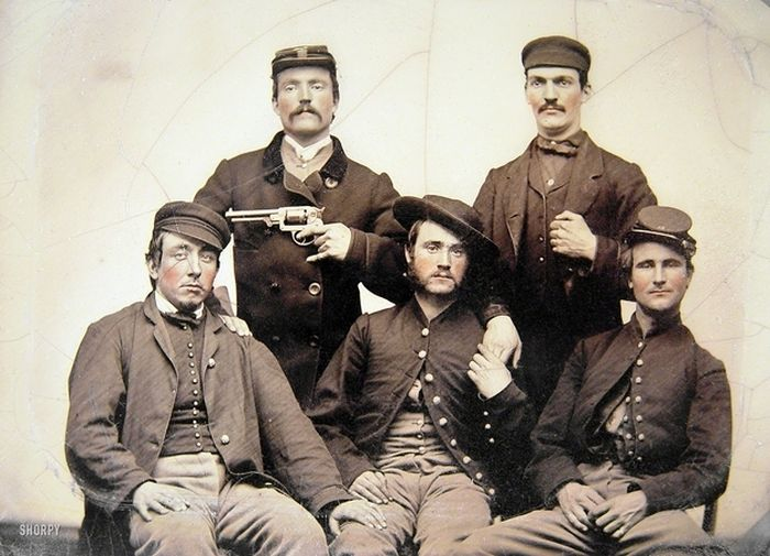 Strange Civil War Photo