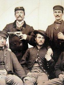 Strange Civil War Photo