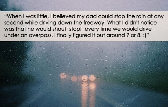 Ridiculous Things People Believed as Kids