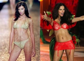 Victoria's Secret Runway Angels Then and Now