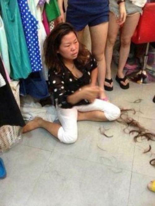 Shoplifter Haircut