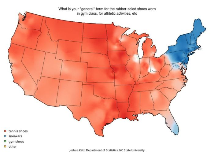 Map of American Accents