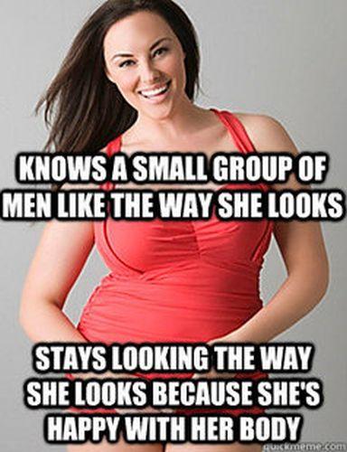 Good Sport Plus Size Woman Meme