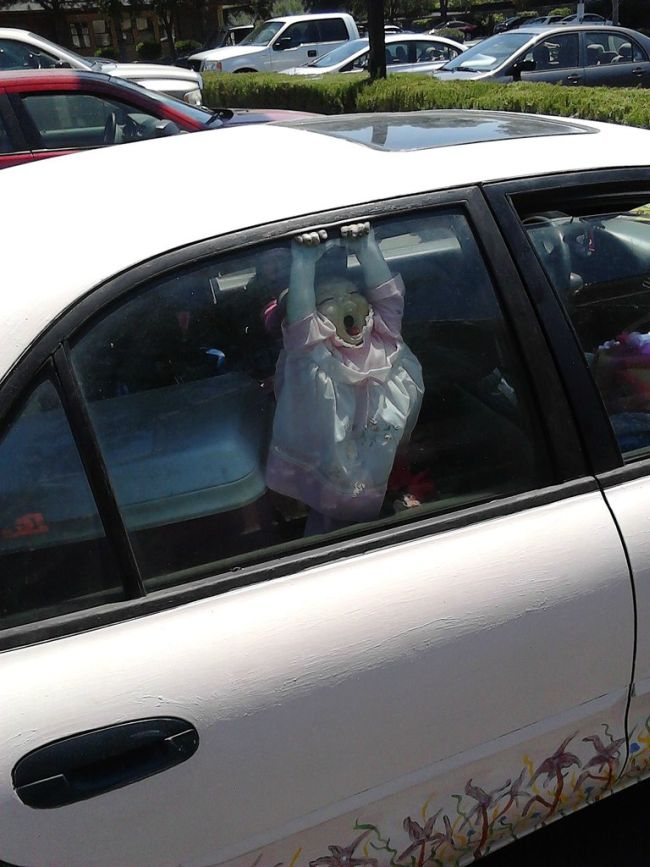 Scary Car