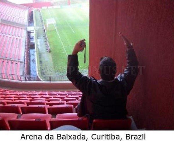 The best stadium places