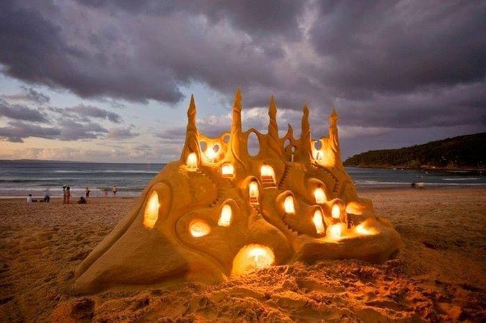 Beautiful Sand Art