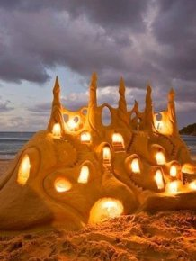 Beautiful Sand Art