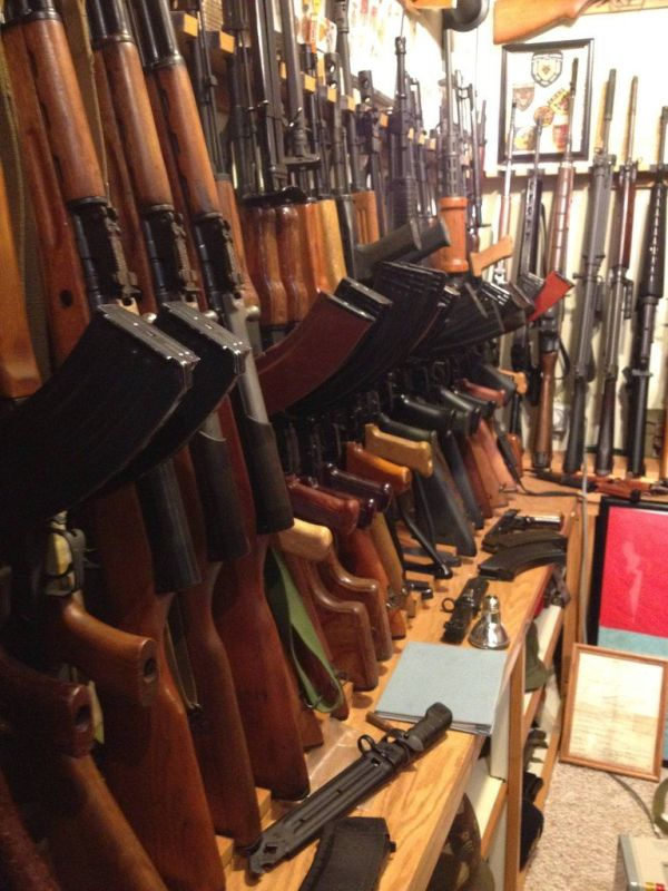 Private Collection of Firearms