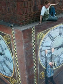 Beautifu 3-D Street Art