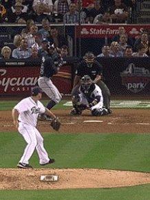 Baseball Fan Jumps into a Bush But Loses the Ball