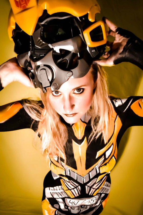 Body Paint Bumblebee
