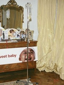Michael Jackson's Bedroom at the Time of His Death
