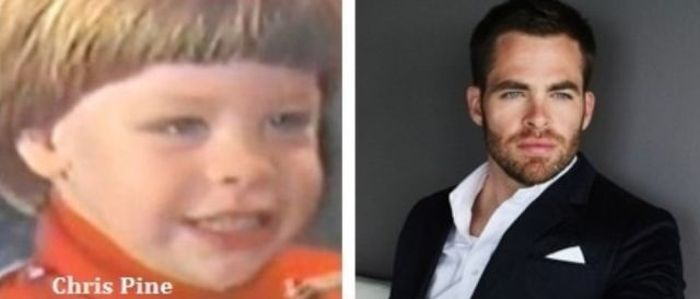 Hot Male Celebrities Then and Now