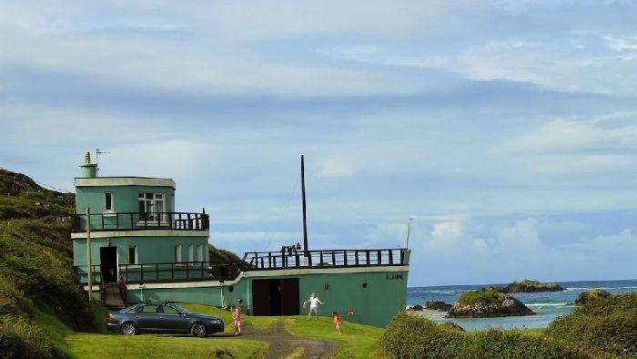 Homes Built Inside Old Ships