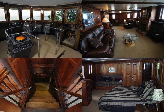 Homes Built Inside Old Ships